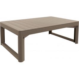 stôl LYON rattan - Allibert Cappuccino