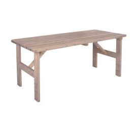 VIKING stôl SIVÝ - 150 cm ROJAPLAST