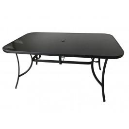 Stôl XT1012T (ZWT-150) - čierne sklo Rojaplast