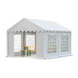 Záhradný párty stan 3x4m biela EKONOMY
