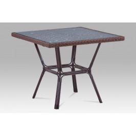 Záhradný stôl AZT-121 BR hnedá Autronic
