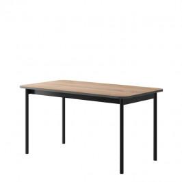 Jedálenský stôl BERGEN BL140 dub jackson hickory / grafit Tempo Kondela