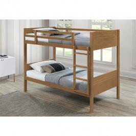 Detská poschodová posteľ MAKIRA dub Tempo Kondela