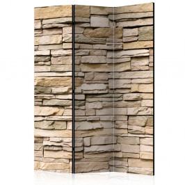 Paraván Decorative Stone Dekorhome 135x172 cm (3-dielny)