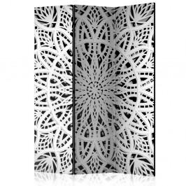 Paraván White Mandala Dekorhome 135x172 cm (3-dielny)