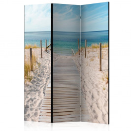 Paraván Holiday at the Seaside Dekorhome 135x172 cm (3-dielny)