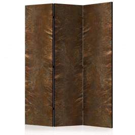Paraván Copper Chic Dekorhome 135x172 cm (3-dielny)