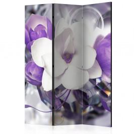 Paraván Purple Empress Dekorhome 135x172 cm (3-dielny)