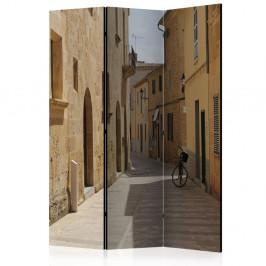 Paraván Summer in Mallorca Dekorhome 135x172 cm (3-dielny)