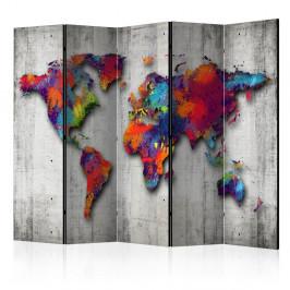 Paraván Concrete World Dekorhome