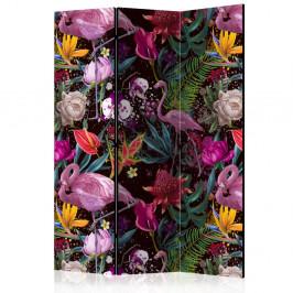 Paraván Colorful Exotic Dekorhome 135x172 cm (3-dielny)