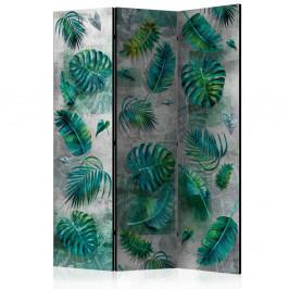 Paraván Modernist Jungle Dekorhome 135x172 cm (3-dielny)