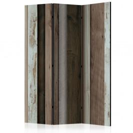 Paraván Wooden Fan Dekorhome 135x172 cm (3-dielny)