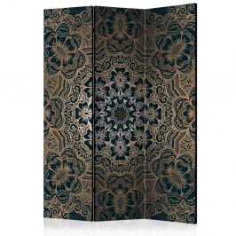 Paraván Intricate Pattern Dekorhome 135x172 cm (3-dielny)