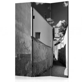Paraván Narrow Street Dekorhome 135x172 cm (3-dielny)