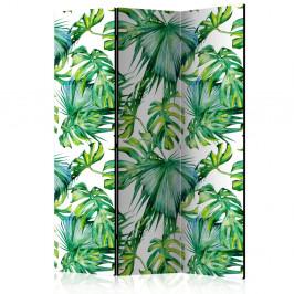 Paraván Jungle Leaves Dekorhome 135x172 cm (3-dielny)