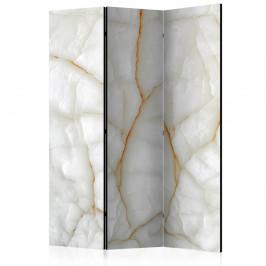 Paraván White Marble Dekorhome 135x172 cm (3-dielny)