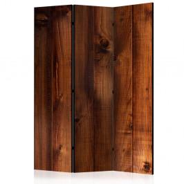 Paraván Pine Board Dekorhome 135x172 cm (3-dielny)