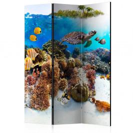 Paraván Cay Dekorhome 135x172 cm (3-dielny)