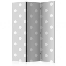 Paraván Cheerful polka dots Dekorhome 135x172 cm (3-dielny)