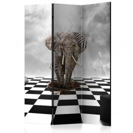 Paraván Escape from Africa Dekorhome 135x172 cm (3-dielny)