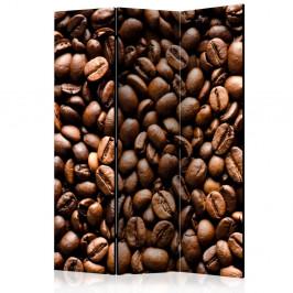 Paraván Roasted coffee beans Dekorhome 135x172 cm (3-dielny)