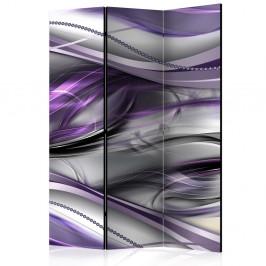 Paraván Tunnels (Violet) Dekorhome 135x172 cm (3-dielny)