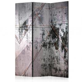 Paraván Geometric Wall Dekorhome 135x172 cm (3-dielny)