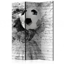 Paraván Dynamic Football Dekorhome 135x172 cm (3-dielny)