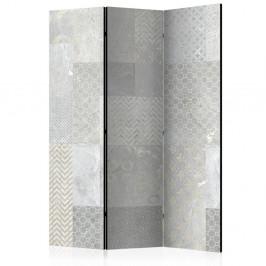 Paraván Tiles Dekorhome 135x172 cm (3-dielny)