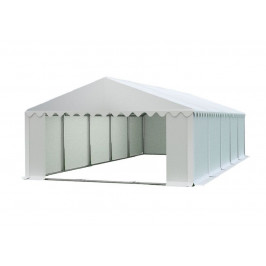 Skladový stan 5x10m biela PREMIUM