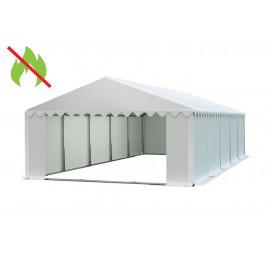 Skladový stan 6x10m biela PREMIUM - nehorľavý