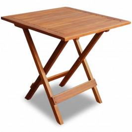Záhradný odkladací stolík akáciové drevo Dekorhome