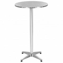 Skladací záhradný stôl hliníkový 60 cm
