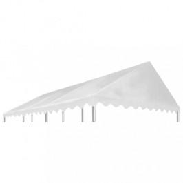 Náhradné strecha na altánok 6 x 4 m biela Dekorhome