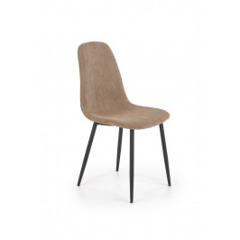 Jedálenská stolička K387 menčester / čierna Halmar Béžová