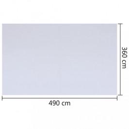 Bazénová podložka biela geotextílie Dekorhome 490x360 cm