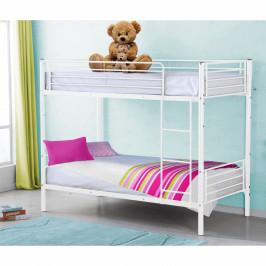 Rozložiteľná poschodová posteľ JAMILA biela Tempo Kondela