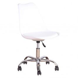 Kancelárska stolička DARISA Tempo Kondela Biela