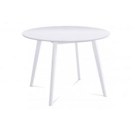 Jedálenský stôl AUT-007 WT biela Autronic