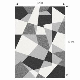 Koberec SANAR čierna / sivá / biela Tempo Kondela 57x90 cm