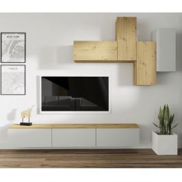 Obývacia stena OTEN svetlosivá / dub artisan Tempo Kondela