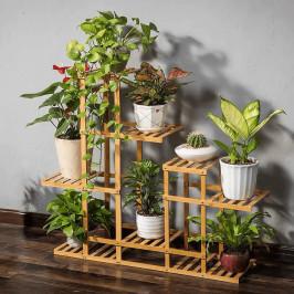 Regál TABIA bambus + darček Tempo Kondela