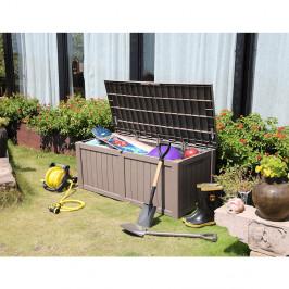 Záhradný úložný box BABUL 450l sivá Tempo Kondela