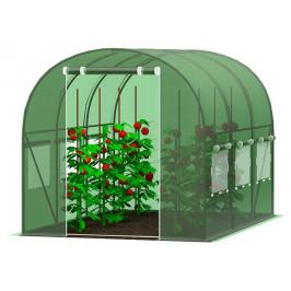 Záhradný fóliovník 2,5x4m zelená
