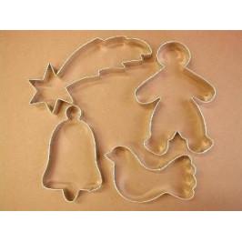 Sada formičiek - Vianočné figúrky zvon - Felcman