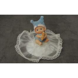 Dieťa s čiapočkou - chlapček rožtek alebo fľaška - Modecor