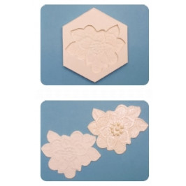 Silikónová formička Floral Lace Mould (Kvetinová krajka) - FPC Sugarcraft