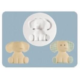 Silikónová forma Nursery Elephant (Sloneček) - FPC Sugarcraft