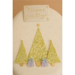 Patchwork vytlačovač Vianočné stromčeky - Patchwork Cutters